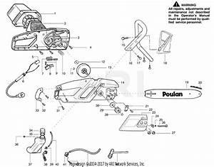 33 Poulan Chainsaw Parts Diagram