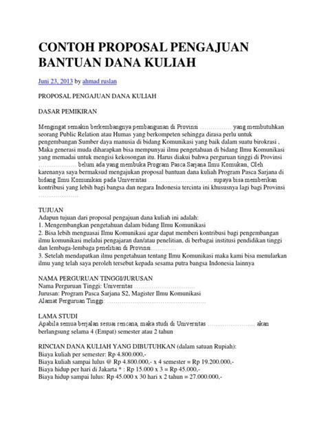 contoh proposal pengajuan bantuan danadocx