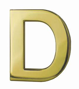 Brass letters for Sign letters