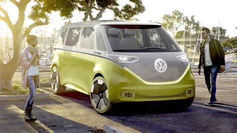 volkswagen microbus volkswagen minibus concept van at the detroit auto show