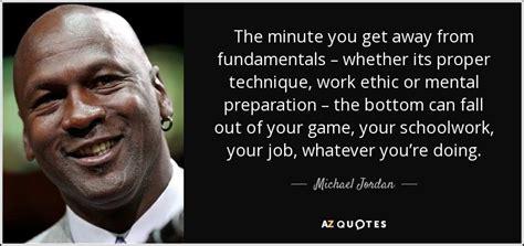 michael jordan quote  minute