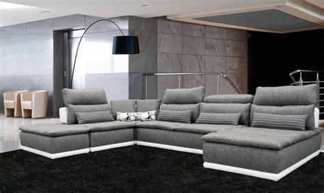 canape design tissus canape cuir et tissus design idées de décoration