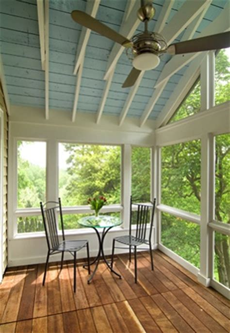 patio room addition paint upstairs addition enclosed porch with painted ceiling