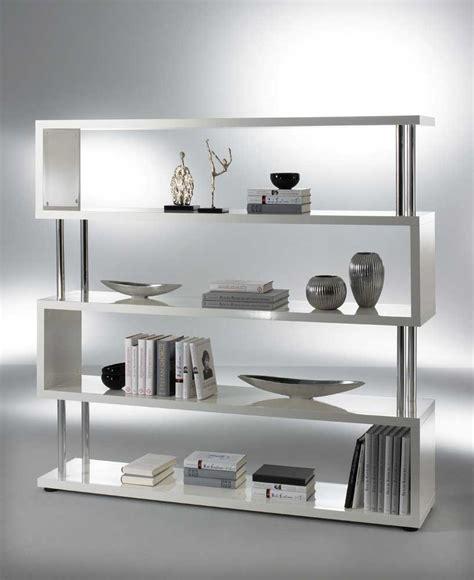 bücherregal modernes design raumteiler wei 223 hochglanz bestseller shop f 252 r m 246 bel und