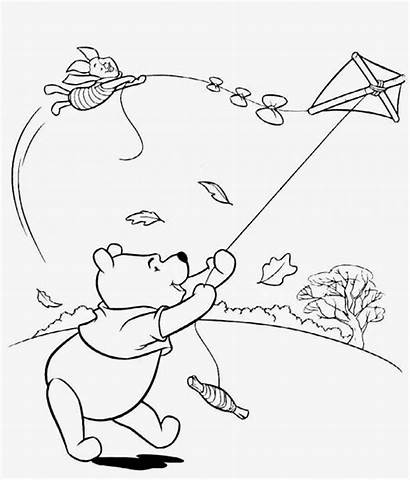Weather Coloring Pages Drawing Windy Colouring Printable