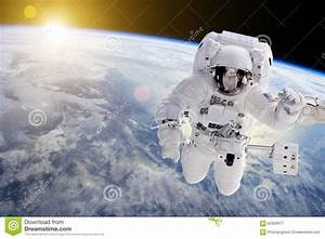Astronaut In Outer Space - Elements Of This Image ...