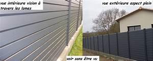 Cloture Composite Prix Usine : lame aluminium cloture ~ Dailycaller-alerts.com Idées de Décoration
