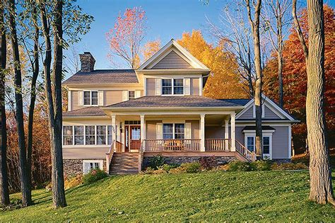 country home plan  solarium dr architectural