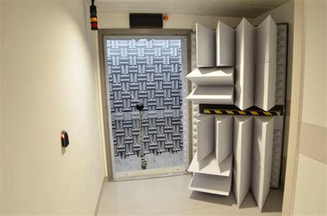 chambre acoustique réalisation de la chambre anechoique de la soufflerie aéro