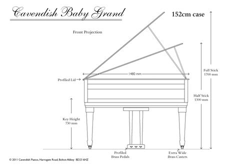 classic upright piano  cavendish baby grand piano dimensions furniture pinterest
