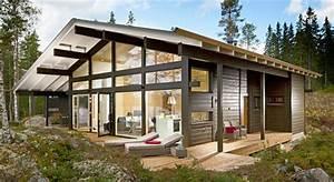 Ferienhaus Holz Bauen : votre r sidence secondaire en bois massif ~ Whattoseeinmadrid.com Haus und Dekorationen