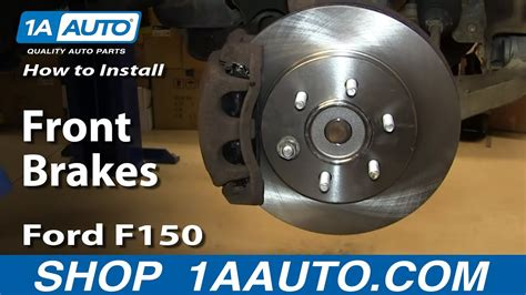 install replace front brakes   ford