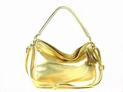 Hobo Leather Bag Metallic Slouch Bags Handbags