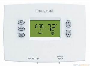 Honeywell Pro 2000 Horizontal Programmable Thermostats