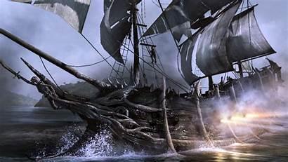 Pirate Ship 3d Wallpapers Backgrounds Ships Desktop