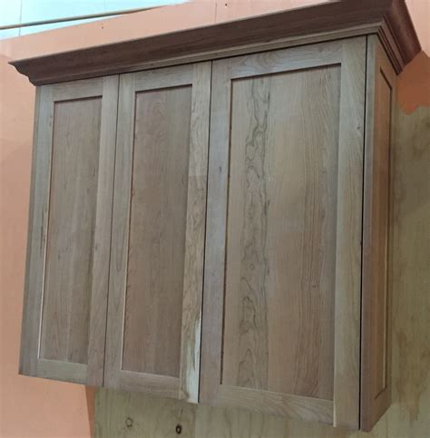 Premade Cabinet Doors Unfinished by Unfinished Shaker Wall Cabinets Inspirative Cabinet