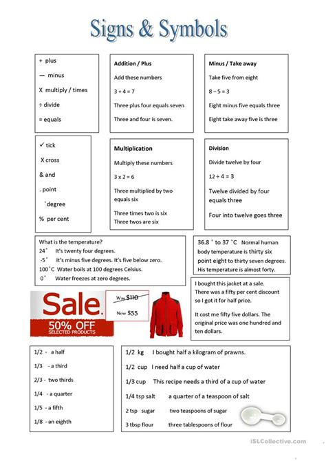 free printable musical signs and vocabulary worksheet