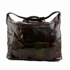Sac De Voyage Cuir Homme : sac de voyage homme femme bandouli re en cuir caf bagage ~ Melissatoandfro.com Idées de Décoration