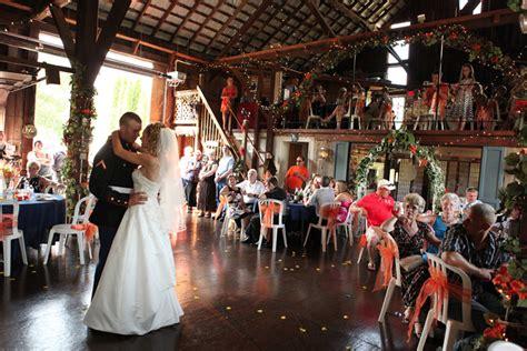 pole barn wedding reception cheap wedding venues