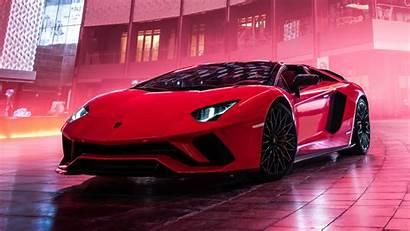 Lamborghini Aventador Roadster 4k Background Yellow Desktop