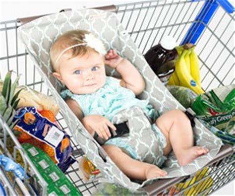 siege caddie supermarché comment occuper bébé en courses 0 1 an