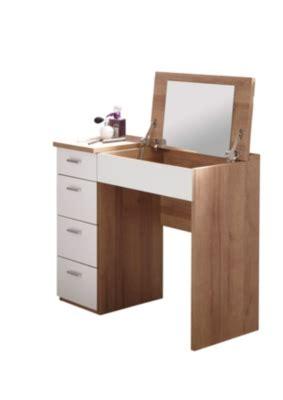 bureau coiffeuse pas cher coiffeuse bureau 4 tiroirs redlips ch 234 ne et blanc