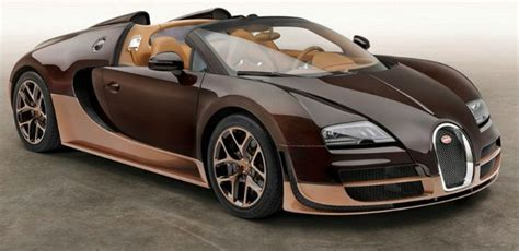 Exotic Bugatti Light Brown Cognac-bugatti Veyron Grand