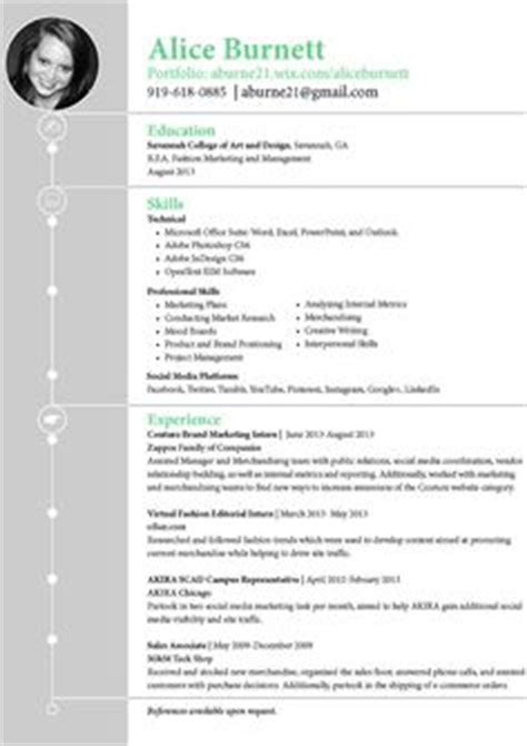 Fashion Design Graduate Resume by 1000 Images About Cv On Resume Resume Ideas And Marketing Resume