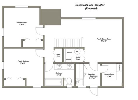 basement design layouts finished basement floor plans finished basement floor