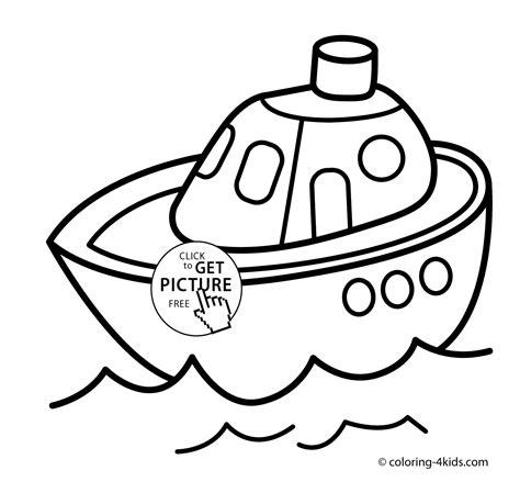 ship transportation coloring pages  kids printable