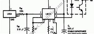 Temperature Sensor  U2013 Simple Circuit Diagram