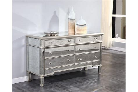 Kommode Spiegel by Dresser Mirrors Florentine Antique Mirrored 6 Drawer