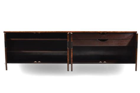 wall credenza roger sprunger burled wood wall mounted credenza by dunbar