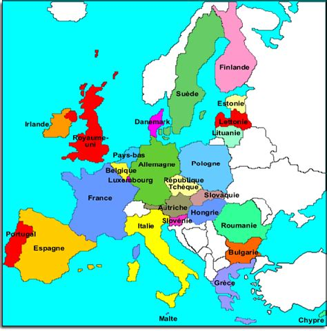Carte Européenne Avec Capitales by Infos Sur Union Europeenne Et Ses Capitales Arts Et