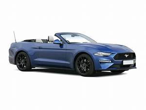 Ford Mustang Convertible 5.0 V8 449 GT Custom Pack 2 2dr Auto Lease Deal | Vanarama
