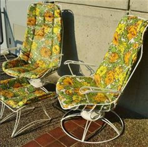 Vintage Homecrest Patio Furniture Cushions by Homecrest Quot Built To Last Quot Wire Frame Highback Rocker Chair