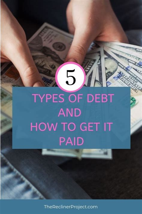 Cardpool, giftcard granny, and raise, to name a few. 5 Types Of Debt And How To Get It Paid — Barry Fralick | Money financial, Debt, Paying off ...
