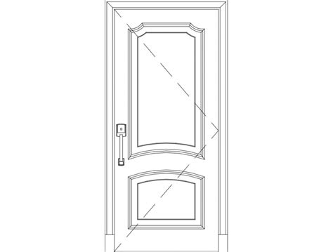 wooden front door dxf file free 3axis co