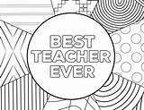 Teacher Coloring Appreciation Ever Printable Cards Thank Printables Printing Week Paper Papertraildesign Happy Birthday sketch template