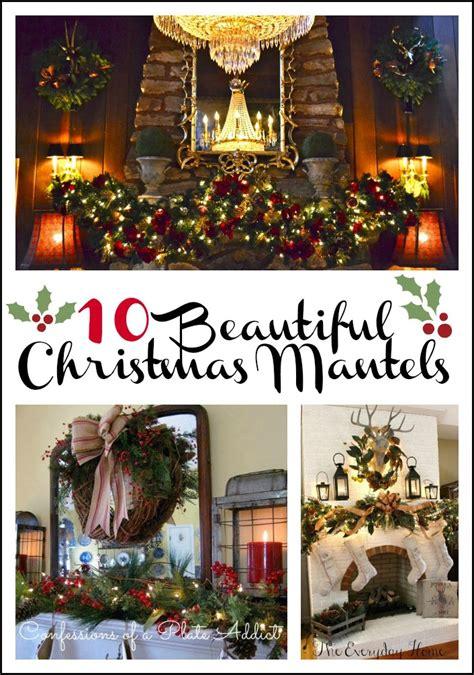 ways  decorate  mantel  christmas