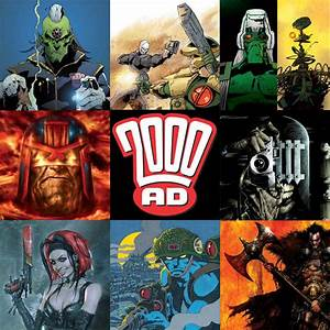 2000AD at the Bristol Comic Expo | Everything Comes Back ...