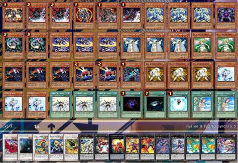 five headed deck profile chaos dragons deck recipe by kish