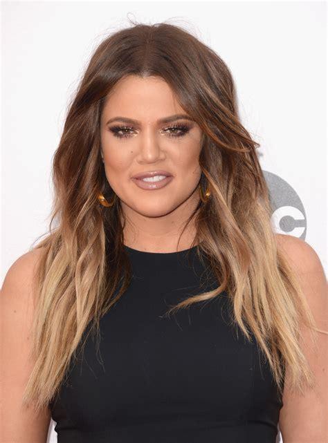 Khloe Kardashian Ombre Hair - Khloe Kardashian Looks ...
