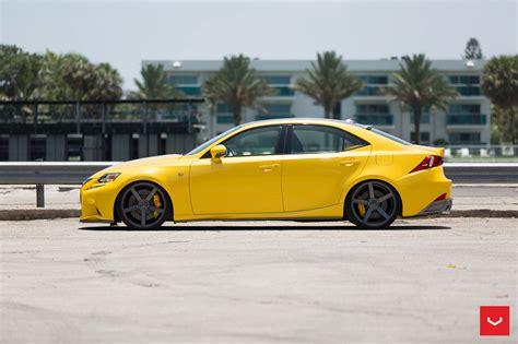 Lexus Enthusiast by Sponsor Vossen Wheels X Lexus Is F Sport In Lfa Yellow