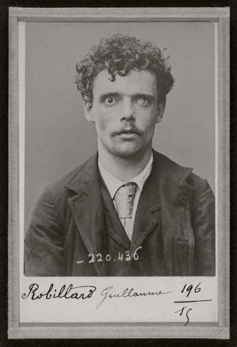 biography pioneer  mug shot alphonse bertillon