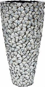 Vase Silber Groß : muschel vase silber blau schoene ~ Eleganceandgraceweddings.com Haus und Dekorationen