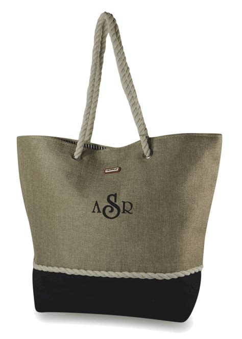 stylish summer tote bag personalized