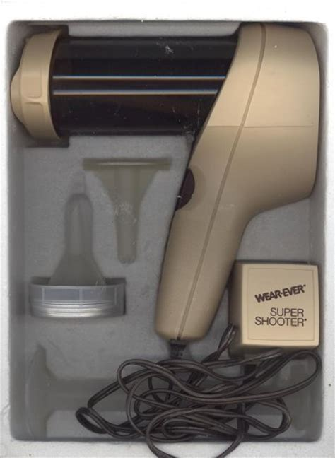wearever super shooter electric cookie gun candy canape