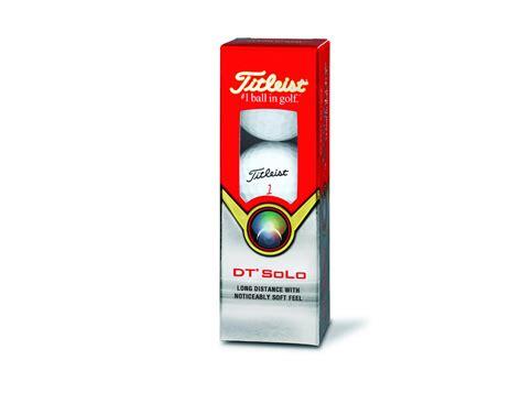 Titleist DT Solo Golfball  Günstiger Titleist Golfball