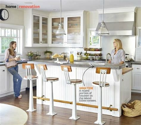 bar height kitchen island counter vs bar height centsational style 4308